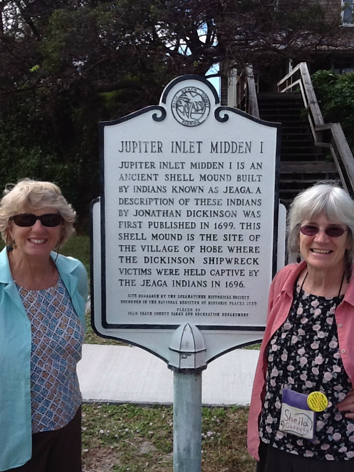 9. Tracy Booth, member of Portland MM and winter resident of Stuart, FL, introduced me to Jonathan Dickinson.  His story is a great testament to nonviolence and faith.  I always love to learn stories of Quakes who did amazing things I never knew about.